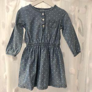 NWOT Gap Lightweight Denim Dress
